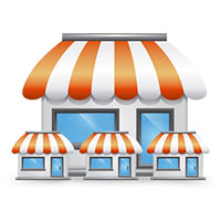 banyak toko kasir online